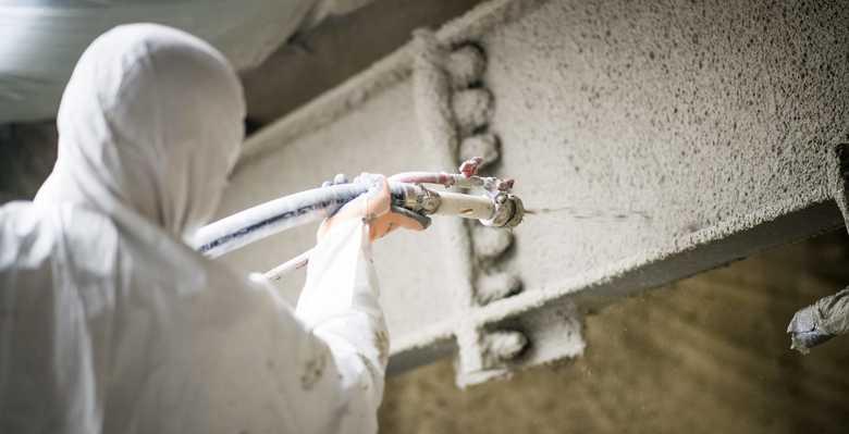 flocage isolation - flocage thermique - flocage bâtiment